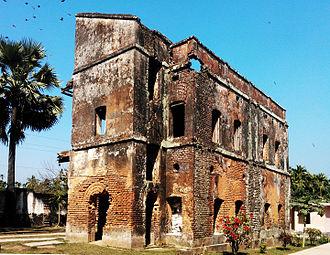 Manikganj District - Image: Baliati Palace 2