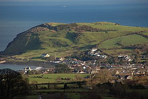 Ballygalley - Image: Ballygally Head near Larne geograph.org.uk 324150