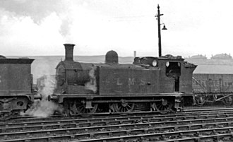 Caledonian Railway 782 Class - No. 16289 at Balornock (St Rollox) Locomotive Depot 15 August 1948