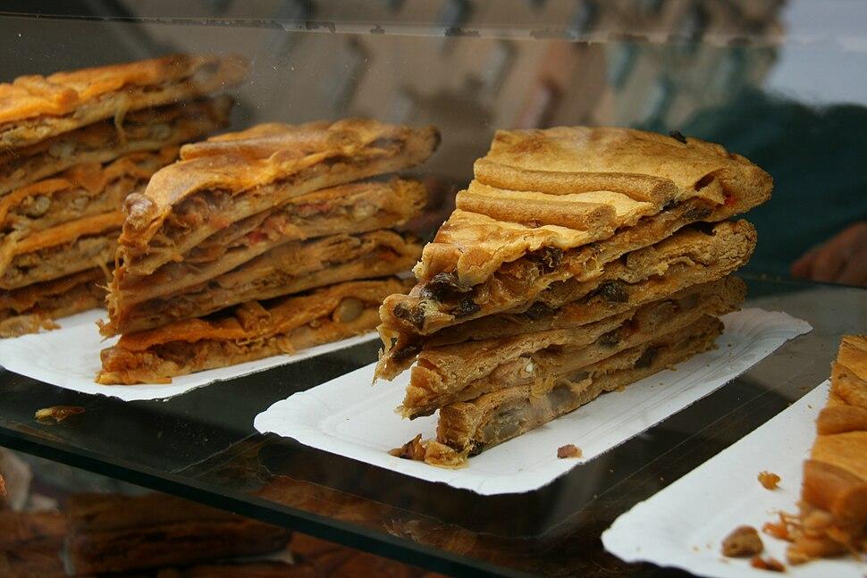 Bandejas de empanadas gallegas