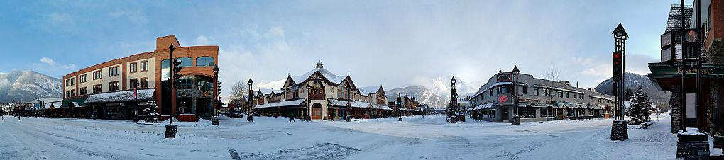 Image result for banff town canada