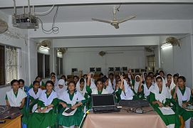 Bangla Wikipedia School Program at Agrabad Government Colony High School (Girls' Section) 23.JPG