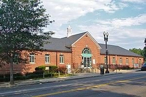 Columbia Heights (Washington, D.C.) - Banneker Community Center (2011)