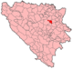 Banovici Municipality Location.png