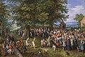 Banquete de bodas presidido por los archiduques Alberto de Austria e Isabel Clara Eugenia (Museo del Prado).jpg