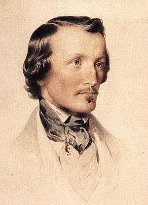 Adam Clark (engineer) - Adam Clark, as depicted by Miklós Barabás
