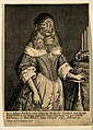 Barbara Vanbeck, a very hairy woman. Etching by R. Gaywood, Wellcome V0007286.jpg