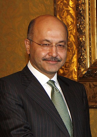 President of Iraq - Image: Barham Salih portrait