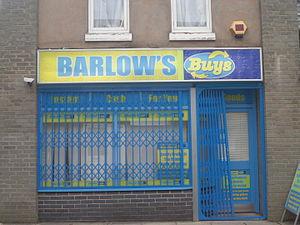 Weatherfield - Image: Barlow's Buys