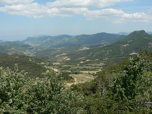 Baronnies (Col de Perty)