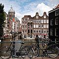 Basilica of St. Nicholas seen from Oudezijds Voorburgwal Canal. Amsterdam, Netherlands, Northern Europe.jpg