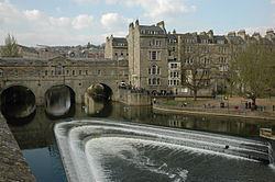 El pont Pulteney a Bath