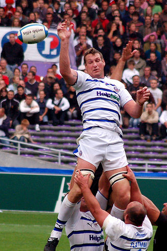 Bath Rugby - Bath Rugby v Toulouse, Justin Harrison (Heineken Cup)