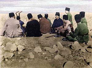 Battle of Sakarya - At Duatepe observation hill (in Polatlı): Fevzi Çakmak, Kâzım Özalp, Mustafa Kemal Atatürk, İsmet İnönü and Hayrullah Fişek