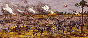 Battle of Fort Blakeley - Storming of Fort Blakeley