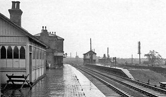 Bawtry railway station - Bawtry station in 1967