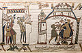 Bayeux Tapestry 32-33 comet Halley Harold.jpg