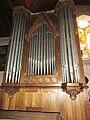 Beaumont-sur-Sarthe (Sarthe) église, l'orgue.jpg