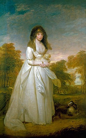 William Beechey - Queen Charlotte (1796; Royal Collection)