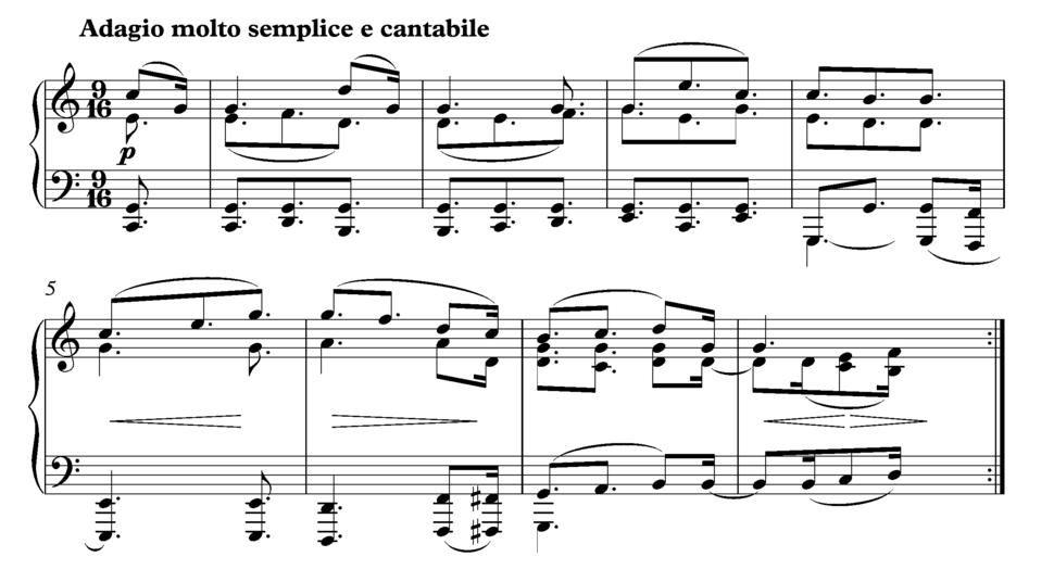 Beethoven Arietta