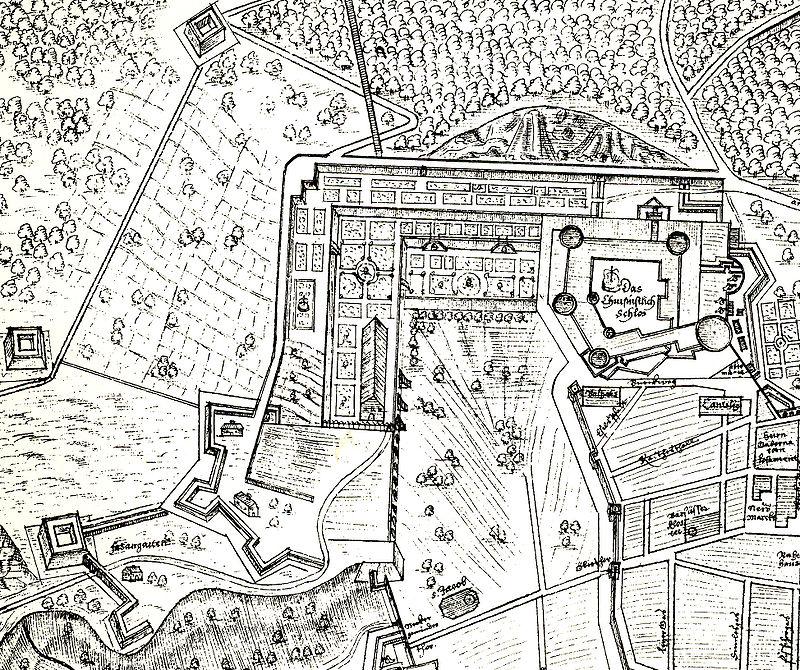 Befestigungsplan des Heidelberger Schlosses 1622 von Anonymus.jpg