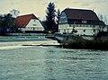 Beim 366 km langen Neckartalradweg, Die Hummelsche Mühle, Die Unterensinger Mühle wurde im 15. Jh. erstmals urkundlich erwähnt. Das Entstehungsdatum liegt vermutlich vor 1389. 1824 und 1853 fand ein Umbau statt. 189 - panoramio.jpg