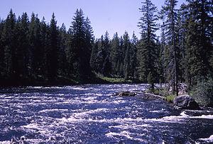 Bechler River - Bechler River