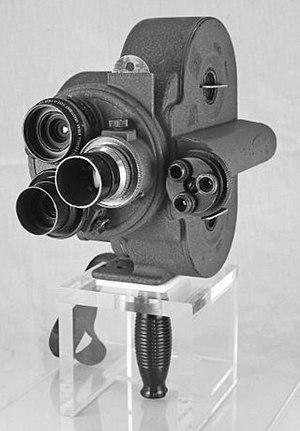 Eyemo - Image: Bell & Howell Eyemo camera