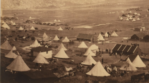 Bell tents used by the British cavalry during the Crimean War in 1855. : used bell tent - memphite.com