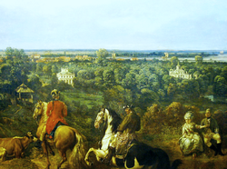 Bellotto View of Ujazdów (detail).png