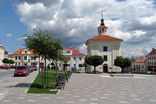 Benátky nad Jizerou Town in Central Bohemian, Czech Republic
