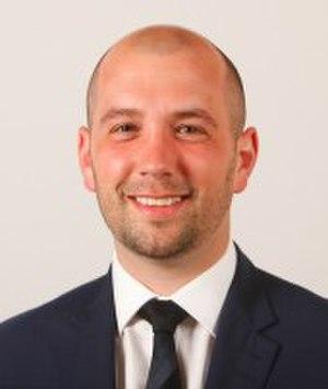 Ben Macpherson (politician) - Image: Ben Macpherson MSP May 2016