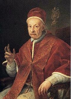 Image du pape Benoît XIII