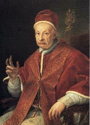 Papal conclave, 1724 - Image: Benedict XIII