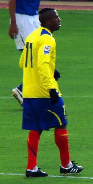 Christian Benítez - Benitez playing for Ecuador in 2009.