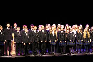 The Benjamin Britten Music Academy - Choir Perform at 2017 Awards Ceremony