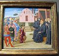 Benozzo gozzoli, predella con scene delle vite di santi, 1460-70 ca., 05 benedetto.JPG