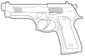 Beretta M9 outline.png