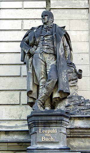 Christian Leopold von Buch - Statue of Buch sculpted by Richard Ohmann