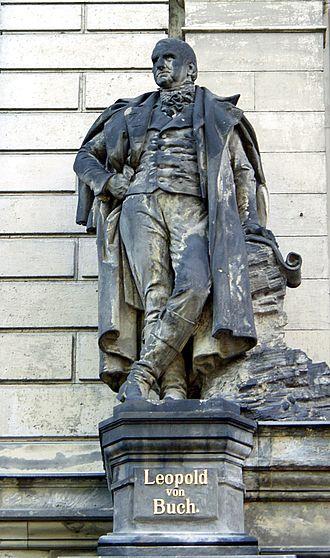 Christian Leopold von Buch - Statue of Buch sculpted by Richard Ohmann