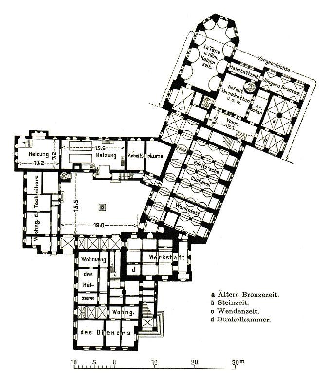 Fileberlin Maerkisches Museum Grundriss Erdgeschoss