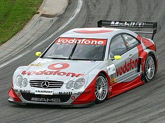 Bernd Schneider (racing driver) - Bernd Schneider at the Sachsenring in 2002