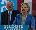 Bernie Sanders & Hillary Clinton (28284447445) (cropped).jpg
