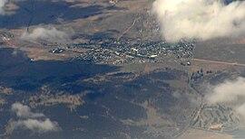 Berridale NSW aerial