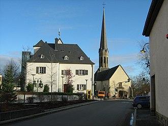 Bertrange - Image: Bertrange centre