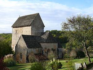 Besse, Dordogne - Image: Besse Eglise Saint Martin 1