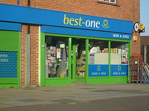 Best-One - A Best-One newsagent in Manchester.
