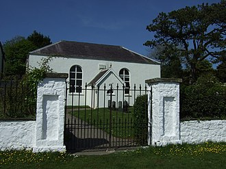 Diana Barham - Bethesda Chapel in Burry Green was built in 1813 or 1814 by Diana, Baroness Barham