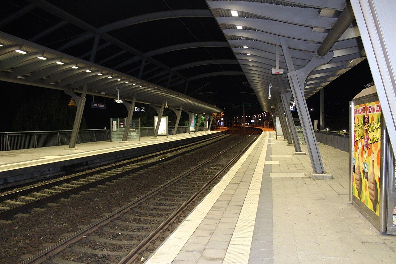 Jena Paradies Bahnhof