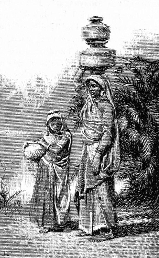 Bhil women of Kathiawar Gujarat 1890